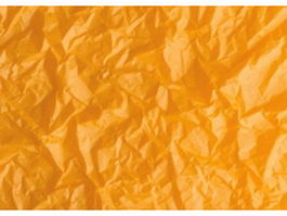 Golden crumpled paper texture