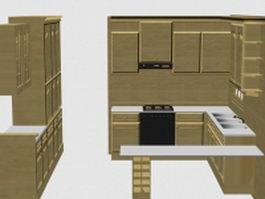Kitchen cabinet ideas 3d model