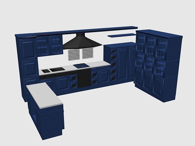 u kitchen cabinet design 3d model 3dsmax files free kitchen cabinet free 3d model max obj 3ds fbx stl skp