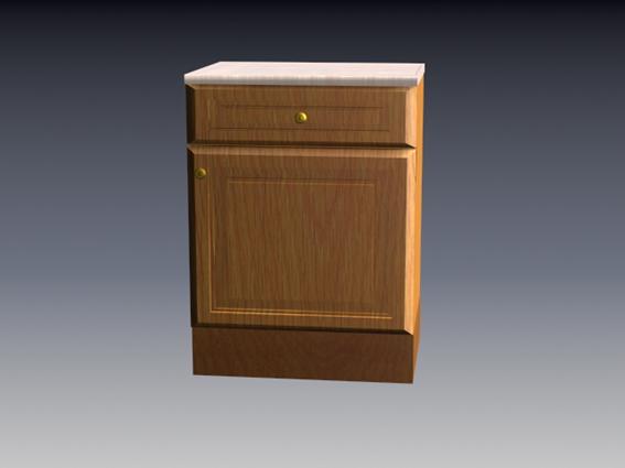 Unit Kitchen Cabinet Components 3d Model 3dsmax 3ds Files Free