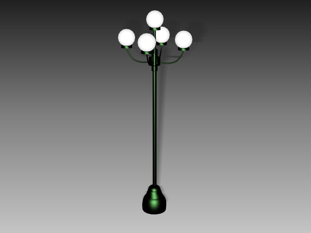 Led Street Lighting 3d Model 3dsmax 3ds Autocad Files Free