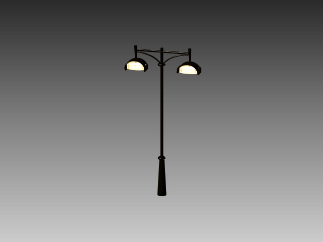 Antique Street Lamp 3d Model 3dsmax 3ds Autocad Files Free