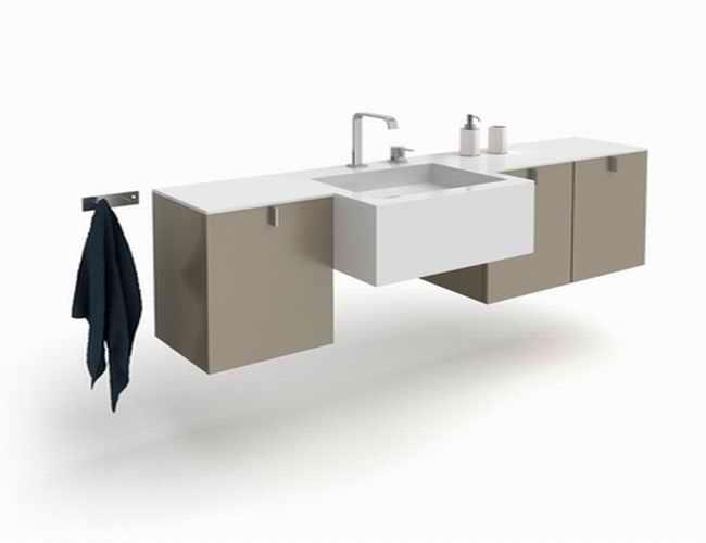 Wall Mounted Bathroom Vanity Cabinet 3d Model 3dsmax Files Free Download Modeling 16867 On Cadnav