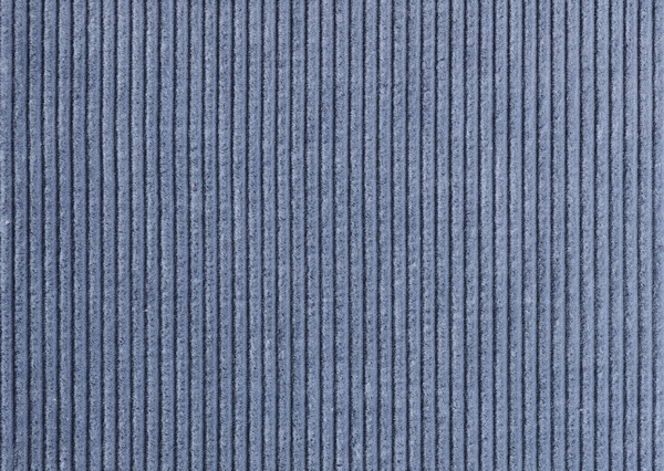 High quality closeup photo of blue corduroy textile texture background ...