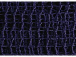 Midnight blue warp knitting background closeup texture