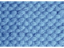 Seamless blue cable knitting pattern texture