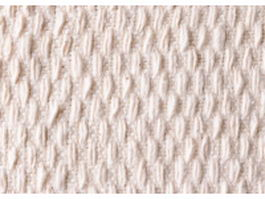 Wool knit cable rug texture