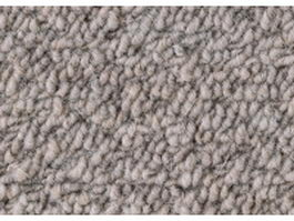 Loop pile gray wool carpet texture