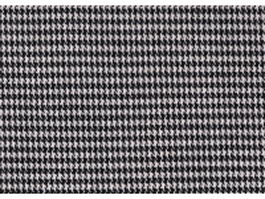 Black and white boucle suiting fabric texture