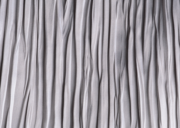 Crumpled curtain fabric texture
