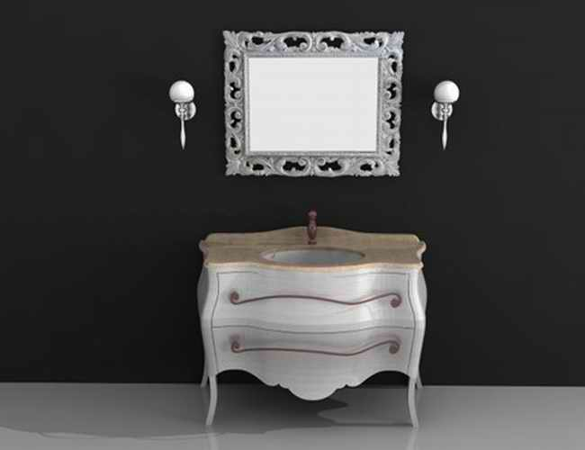 Classic Vanity Cabinet 3d Model 3dsmax 3ds Autocad Files