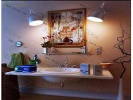 Modern vanity design 3d model