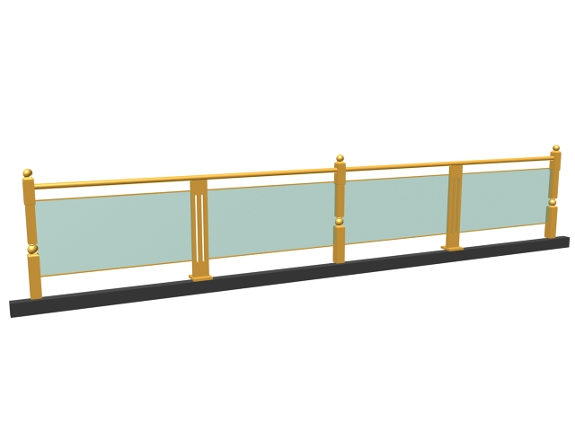 Exterior glass guardrail 3d model 3dsmax 3ds files free for Exterior 3ds max model