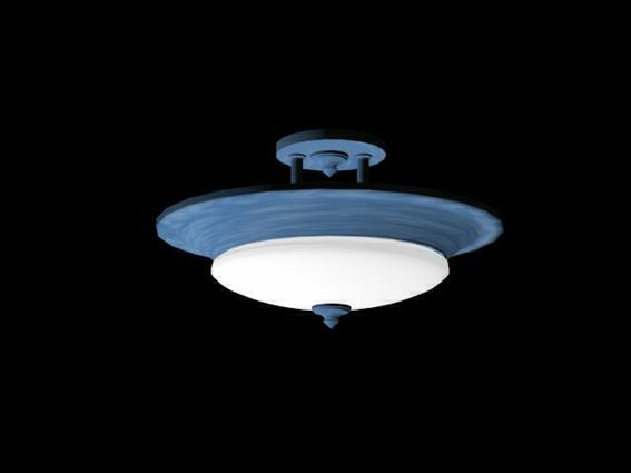 Alabaster Glass Ceiling Light 3d Model 3dsmax 3ds Files