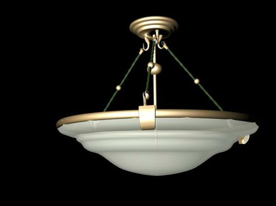 Bronze Pendant Lighting Fixture 3d Model 3dsMax3ds Files
