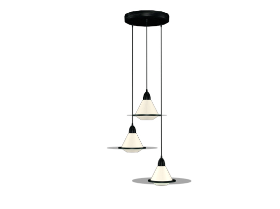 Modern Hanging Lighting 3d Model 3dsmax 3ds Files Free