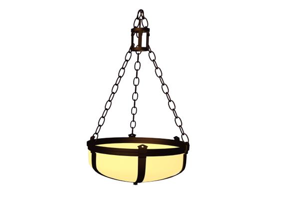 Chain Pendant Light Fixture 3d Model 3dsmax 3ds Files Free