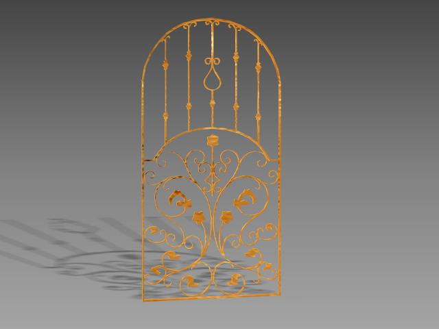 Antique Decorative Window Guards 3d Model 3dsmax 3ds
