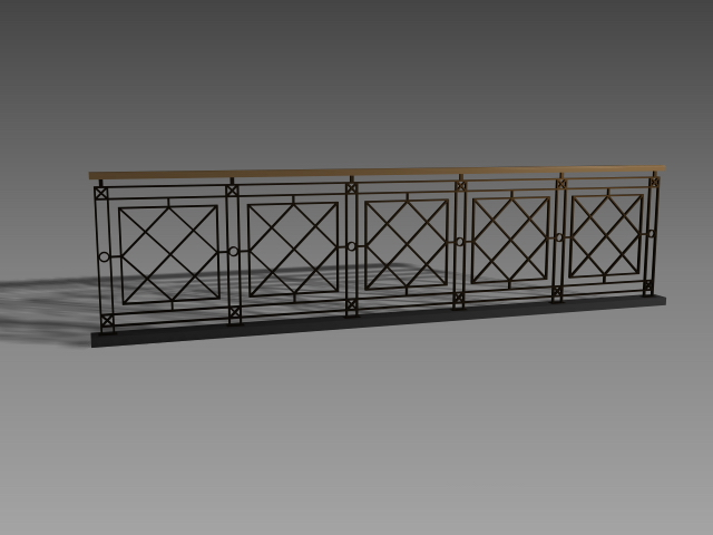 Handrail Design For Staircase 3d Model 3dsmax 3ds Autocad