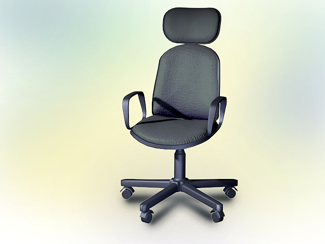 Contemporary Office Chair 3d Model 3dsmax Autocad Files Free