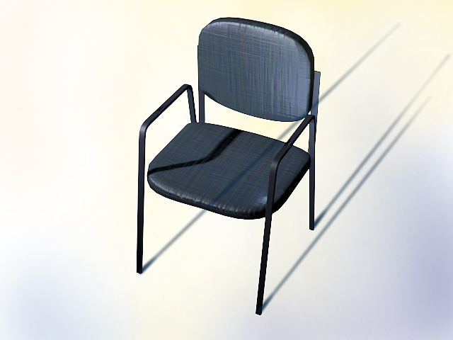 No Wheels Office Chair 3d Model 3dsmax Autocad Files Free