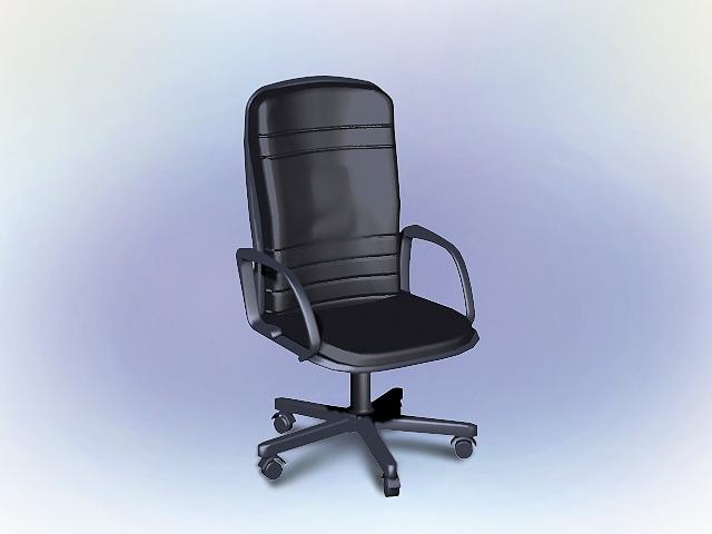 modern executive office chair. modern executive office chair 3d model