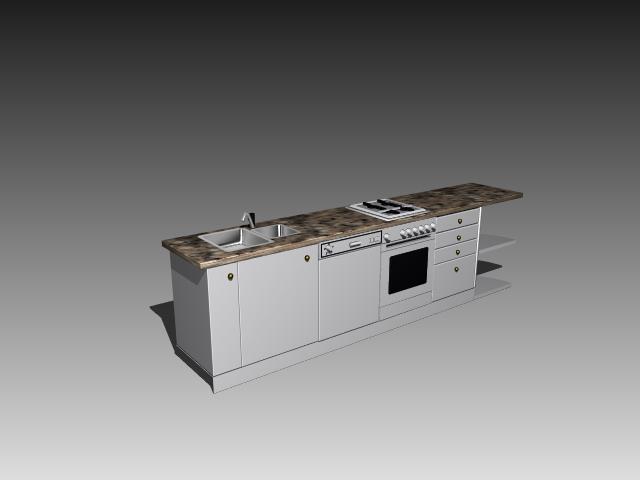 Cadnav Kitchen Sink