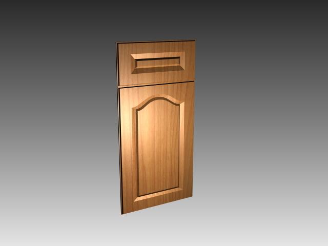 Flat Panel Kitchen Cabinet Door 3d Model 3dsmax 3ds