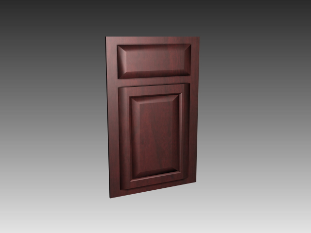 Shaker Kitchen Cabinet Door 3d Model 3dsmax 3ds Autocad