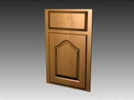 Decor kitchen cabinet door 3d model
