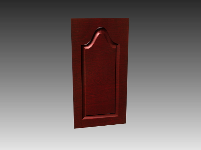 Available In 3dsmax 3ds And Autocad Wood Door With Glass Window