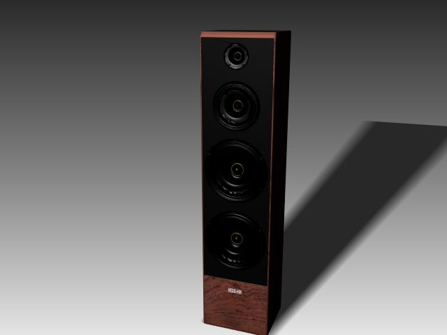 4 Way Speaker System 3d Model 3dsmax 3ds Autocad Files