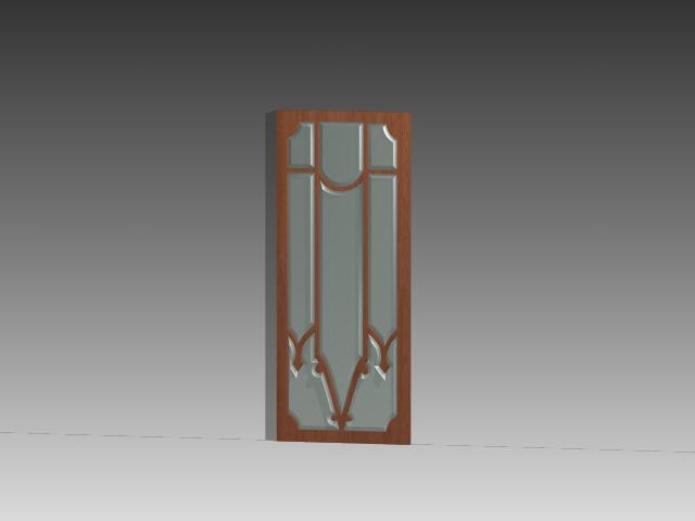 Interior Glass Door Inserts 3d Model 3dsmax 3ds Autocad