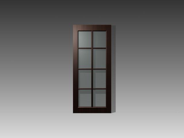Cabinet Glass Door Inserts 3d Model 3dsmax 3ds Autocad