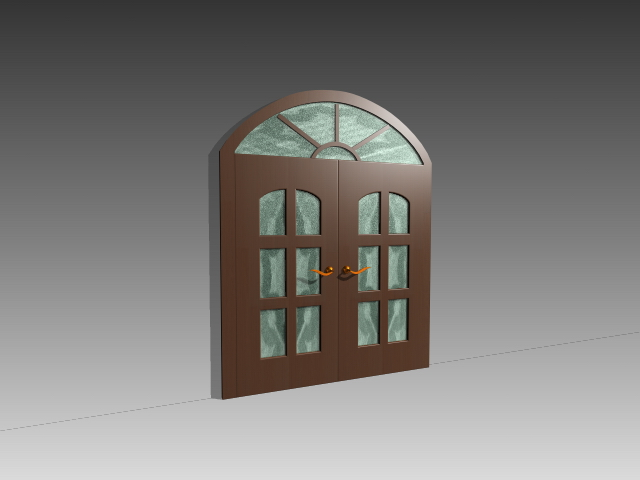 Antique french door 3d model 3dsMax,3ds,AutoCAD files free download