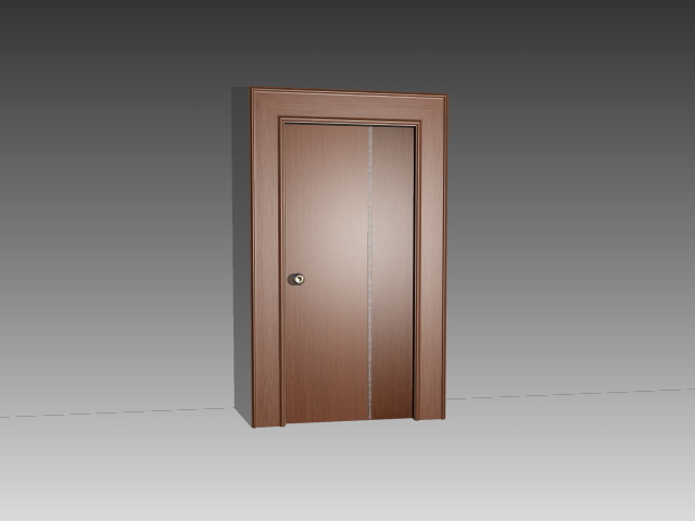Mahogany wood door 3d model 3dsmax 3ds autocad files free for Mahogany door skin