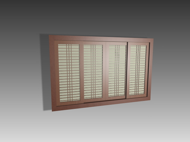 Interior Sliding Partition Doors 3d Model 3dsmax3dsautocad Files