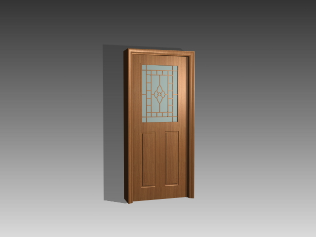 Classic Office Door 3d Model 3dsmax 3ds Autocad Files Free