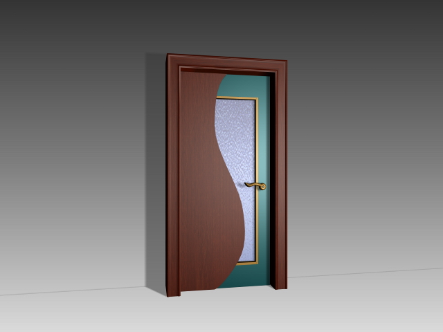 modern bedroom door 3d model 3dsmax,3ds,autocad files free