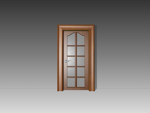 10 panel glass door 3d model 3dsmax 3ds autocad files free