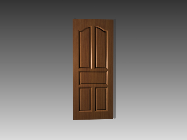 Vintage 5 Panel Door Insrts 3d Model 3dsmax 3ds Autocad