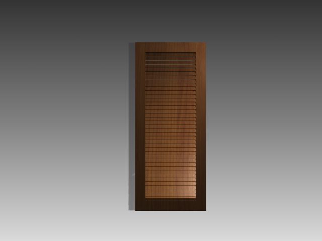 Shutter Door Inserts 3d Model 3dsmax 3ds Autocad Files