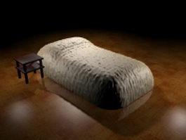 Air mattress bed 3d model