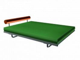 Minimalist platform bed 3d model
