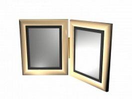 Desktop picture frame 3d model