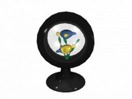 Cartoon fish artware 3d model