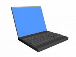 Laptop computer 3d model