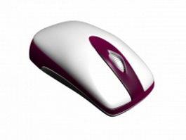 Standard wireless mouse 3d model