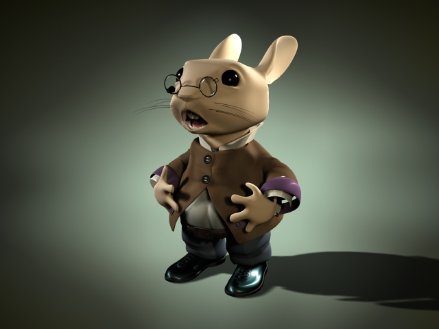 Cartoon Characters 3d Model Download : Cartoon rabbit character d model dsmax files free