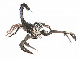 Robot scorpion 3d model